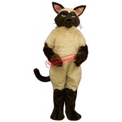 Sally Siamese Cat Mascot Costume