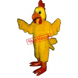 Mrs. Cluck Chicken Mascot Costume