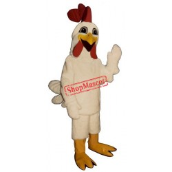Laughing Rooster Chicken Mascot Costume