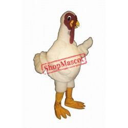Fat Turkey Mascot Costume