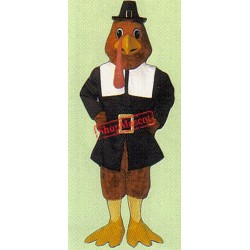 Tom Gobble Turkey Mascot Costume