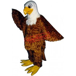 Friendly Eagle Mascot Costume