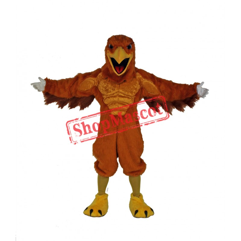 Mighty Golden Eagle Mascot Costume