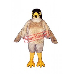 Tan Eagle Mascot Costume
