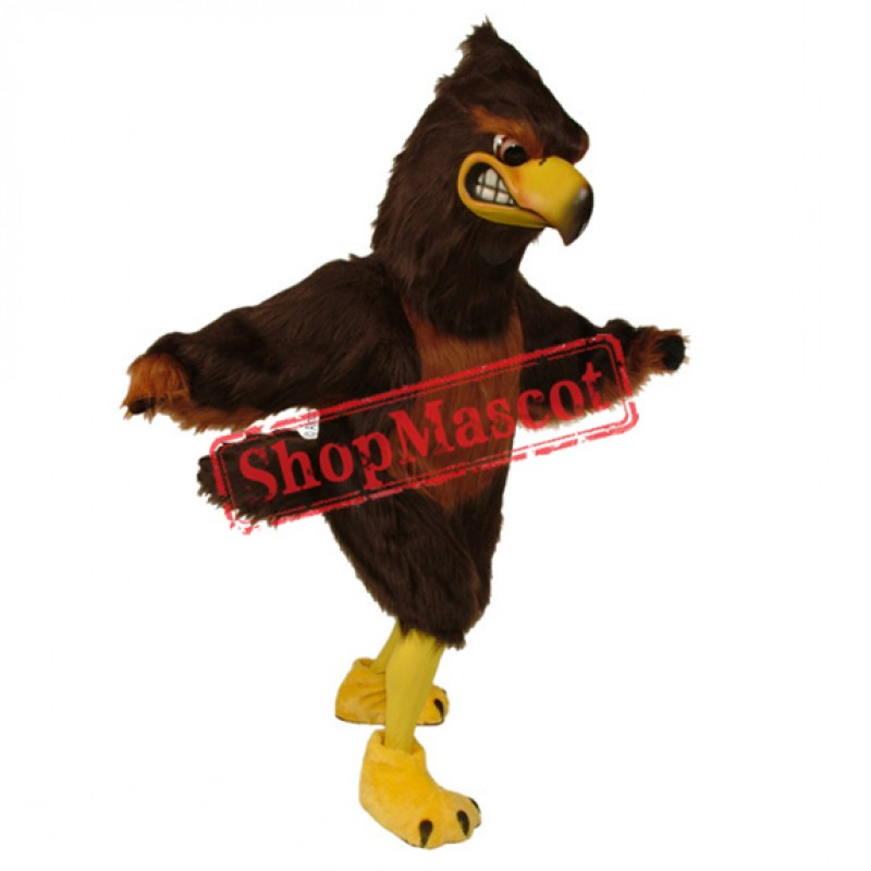 Majestic Hawk Mascot Costume