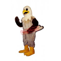 Happy Hawk Mascot Costume
