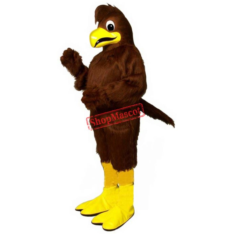 Crested Hawk Mascot Costume