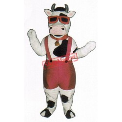 Mootown Moo Cow Mascot Costume