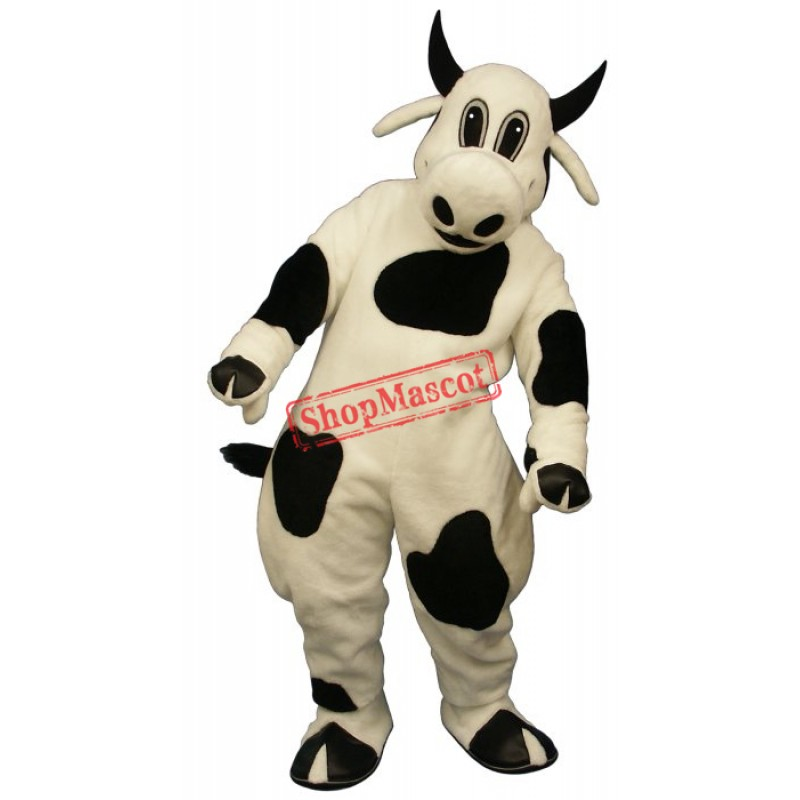 Spotted Cow Mascot Costume
