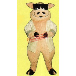 Heavy Hog Mascot Costume