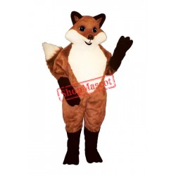 English Fox Mascot Costume
