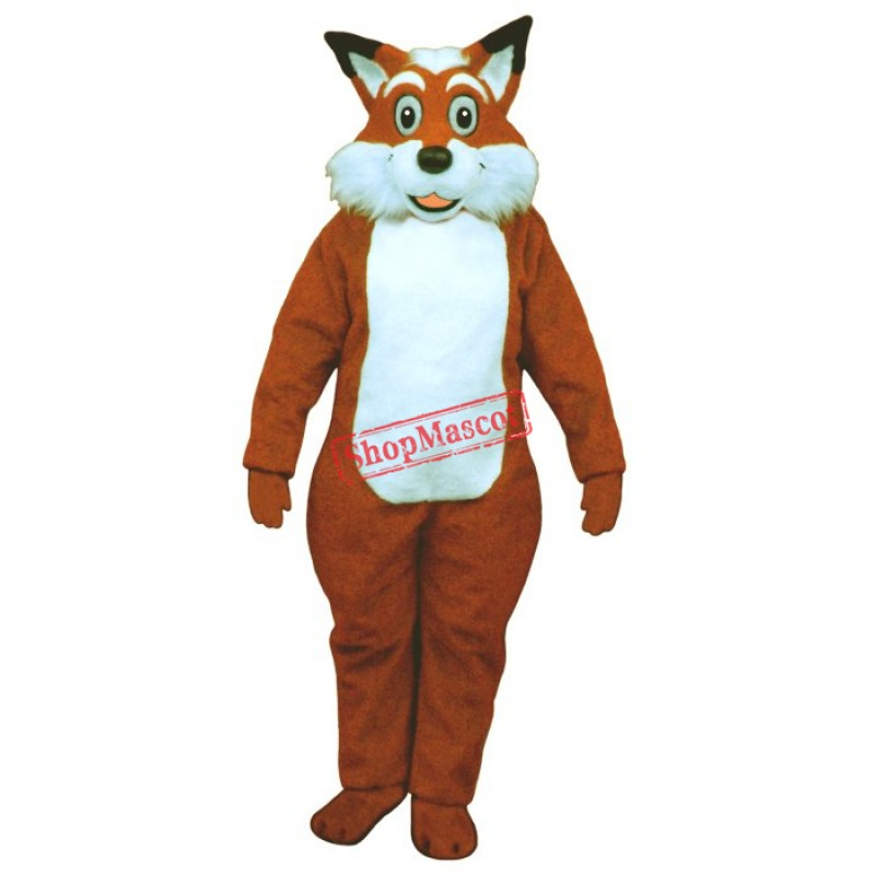 Fred Fox Mascot Costume