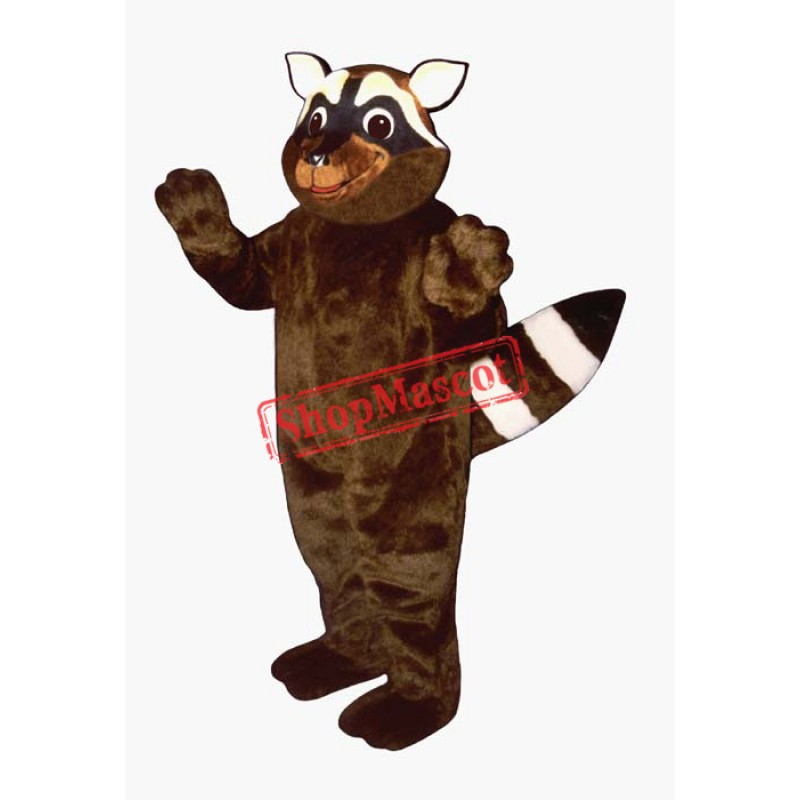 Foxy Raccoon Mascot Costume