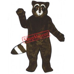 Rex Raccoon Mascot Costume
