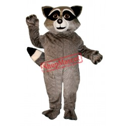 Wild Raccoon Mascot Costume