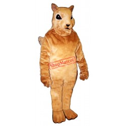 Squirrely Mascot Costume