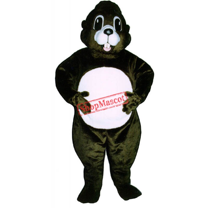 Happy Groundhog Mascot Costume
