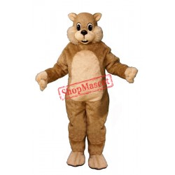 Chatty Squirrel Mascot Costume
