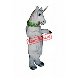 Unicorn w Garland Mascot Costume
