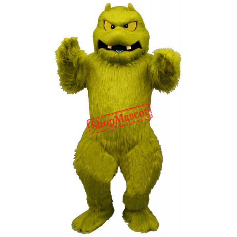 Slimy Monster Mascot Costume