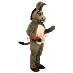 Happy Donkey Mascot Costume