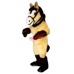 Clyde Clydesdale Collar & Harness Mascot Costume