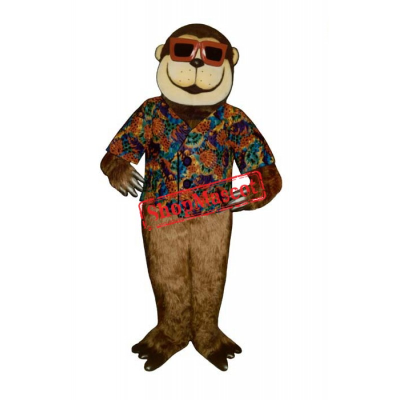 Swinging Ape Monkey Mascot Costume