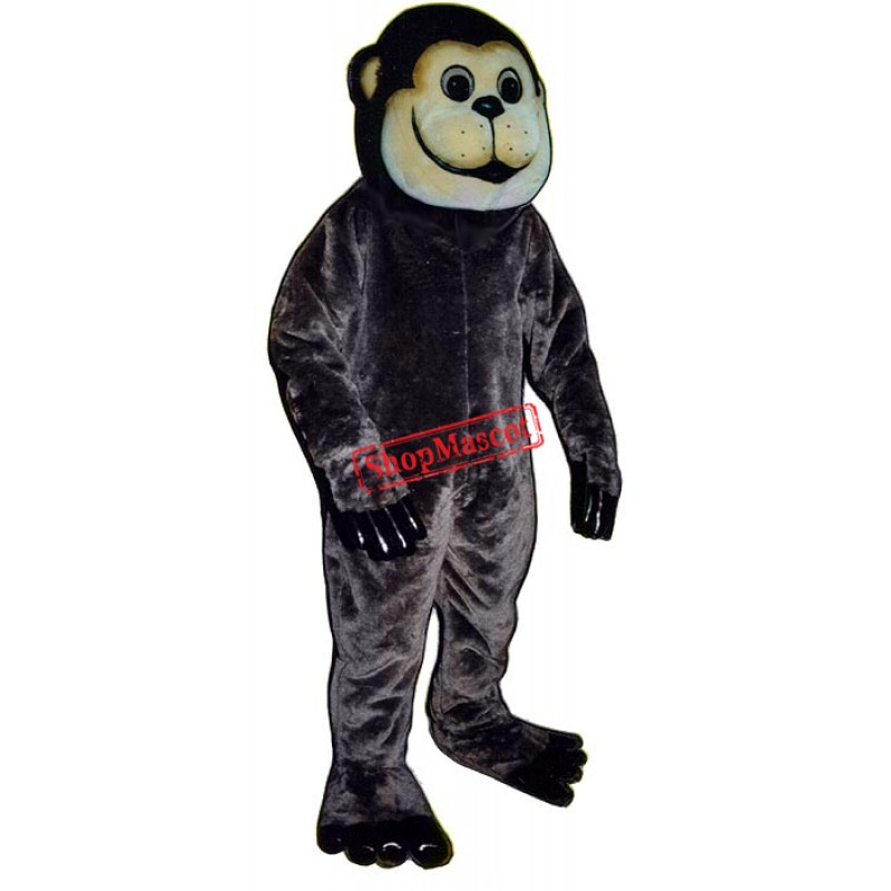 Brown Ape Monkey Mascot Costume