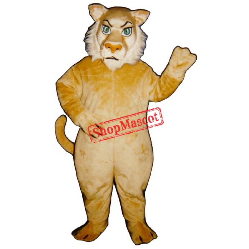 Growly Lion Mascot Costume