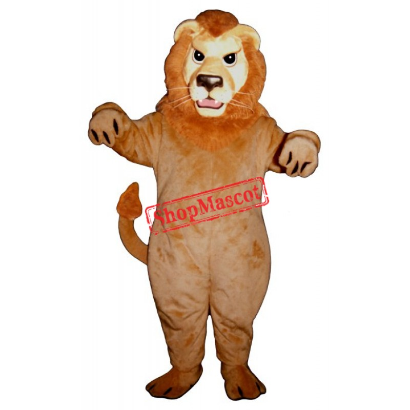 Mean Lion Mascot Costume