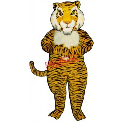 Jungle Tiger Mascot Costume