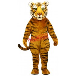 Tiger Ted Mascot Costume