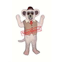 Marty Mouse Mascot Costume