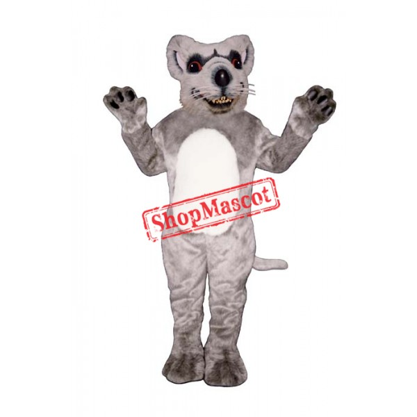 Red Eyed Rat Mascot Costume
