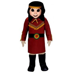 Indian Princess Mascot Costume