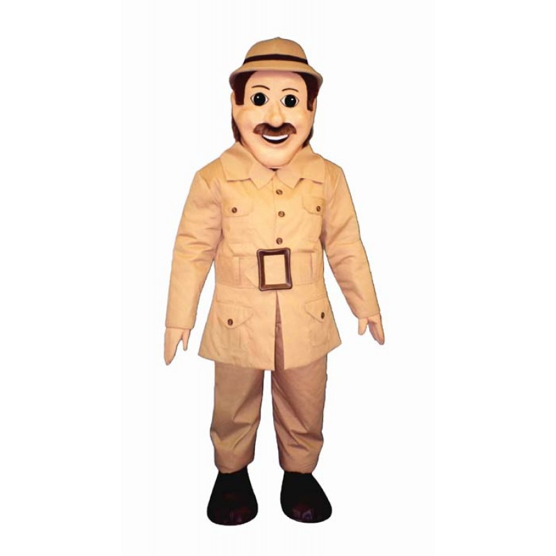 Safari Sam Mascot Costume