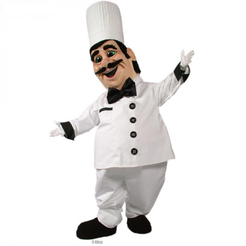 Chef Pierre Mascot Costume