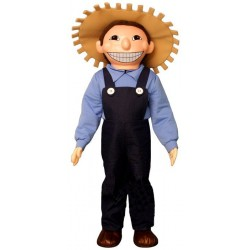 Farm Boy Mascot Costume