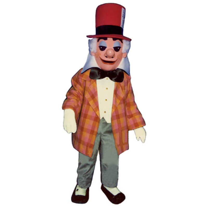 Mad Hatter Mascot Costume