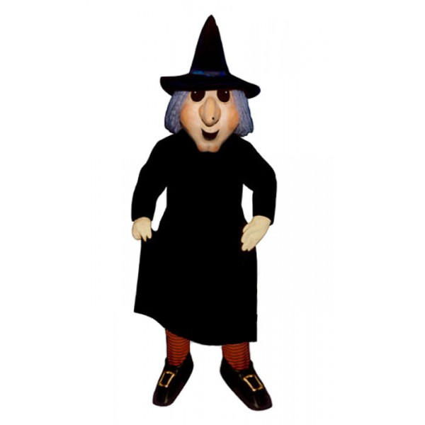 Black Witch Mascot Costume