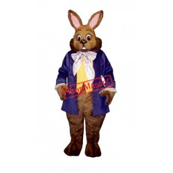 Mr. Brown Bunny Mascot Costume