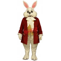 Wendell Rabbit-Red Mascot Costume
