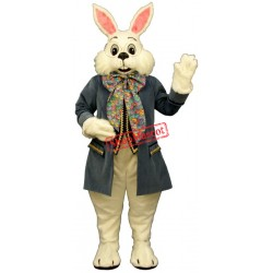 Wendell Rabbit-Blue Mascot Costume