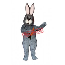 Toothless Rabbit Mascot Costume
