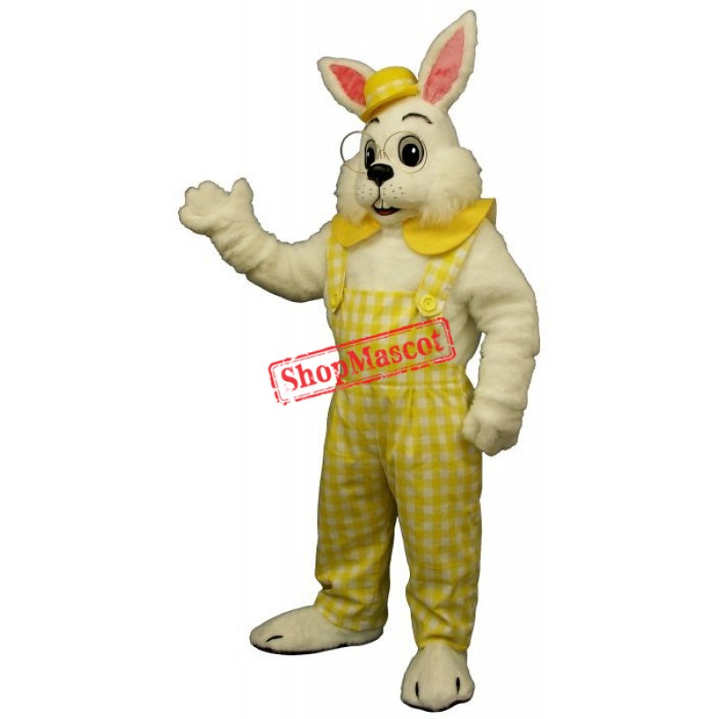Eggbert Rabbit Mascot Costume