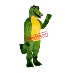 Friendly Gator Mascot Costume