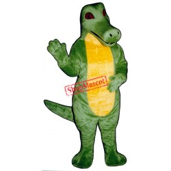Cute Crocodile Mascot Costume