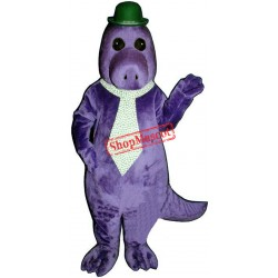 Jake The Saurus Hat Tie Mascot Costume