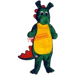 Happy Dragon Mascot Costume
