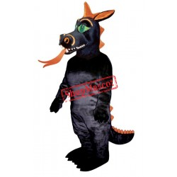 Fire Dragon Mascot Costume